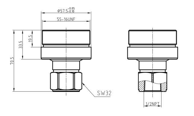 单晶硅芯体尺寸