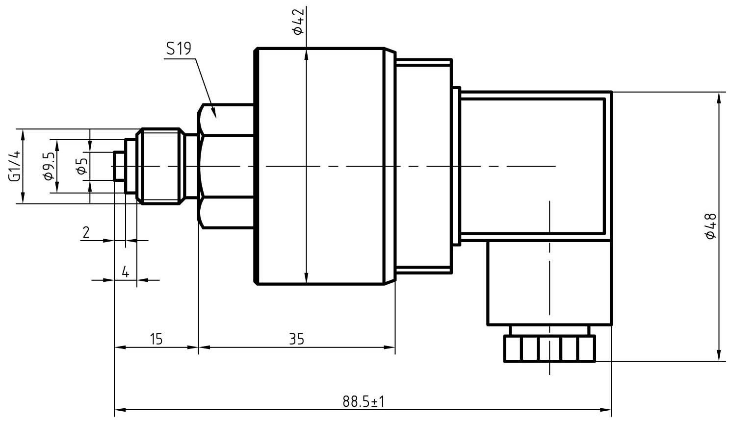 船用防腐蚀型压力变送器